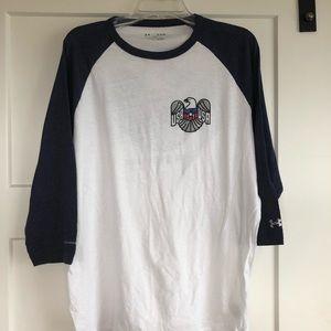 Under Armour USA 3/4 Sleeve Shirt XL